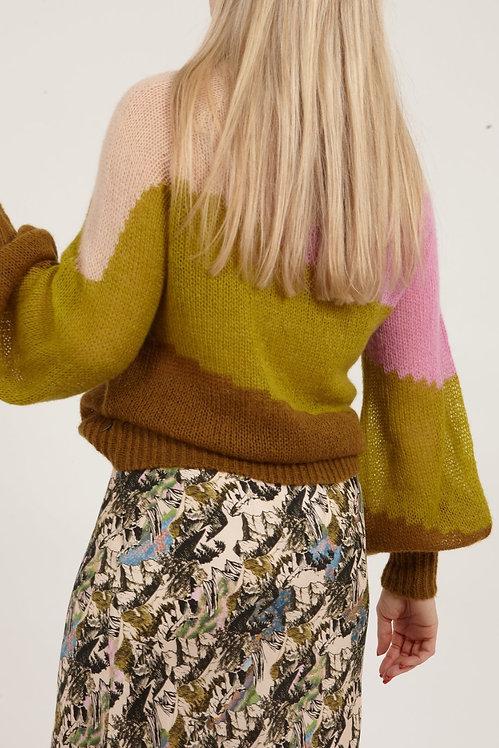 COSTER COPENHAGEN - Meadow Stripe Sweater