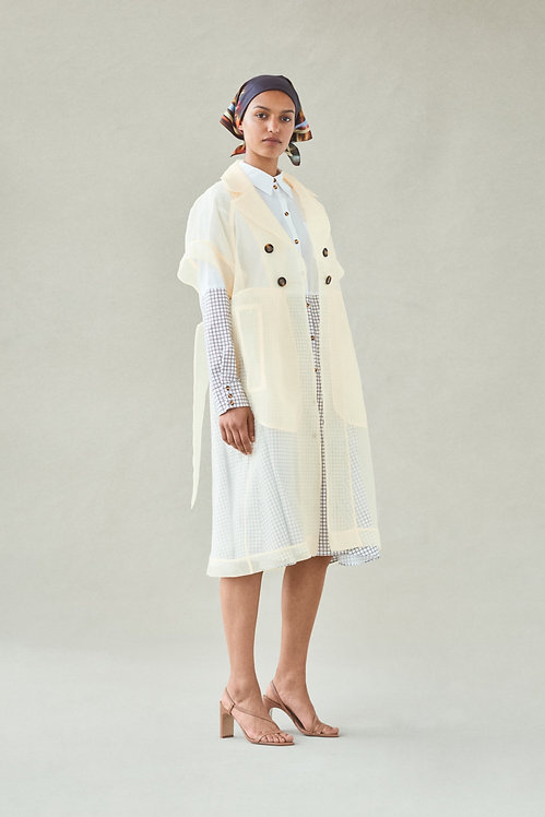 BAUM UND PFERDGARTEN - Devore Dress Coat