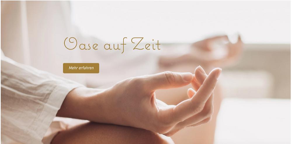 Oase auf Zeit - Spirituelles Zentrum Rheinschlucht