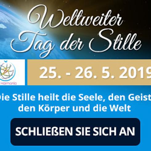 Weltweiter Tag der Stille 25. – 26. 5. 2019