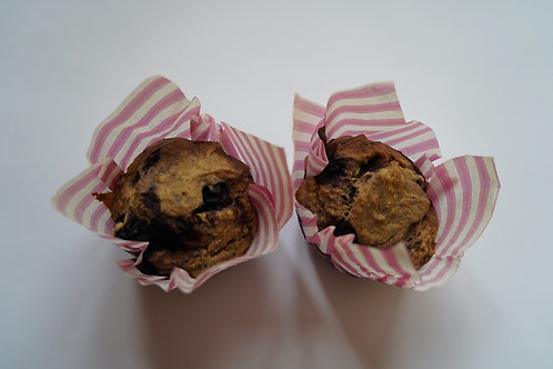 Wilde Heidelbeer Bananen Muffins