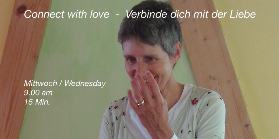 Connect with Love - Verbinde dich mit der Liebe