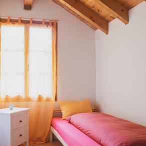 Zimmer im Meditations- und Spirituellem Zentrum Rheinschlucht.