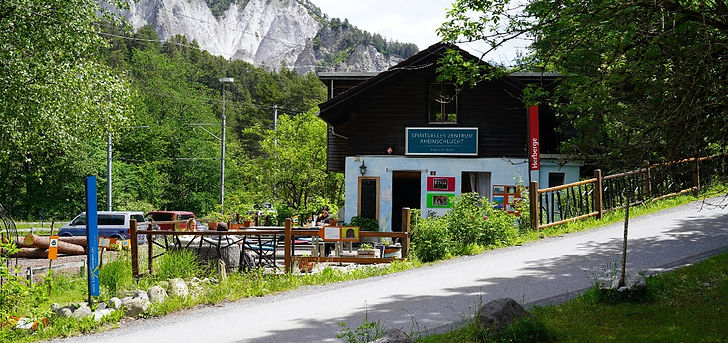 Pächterin Café & Herberge gesucht Spirituelles Zentrum Rheinschlucht