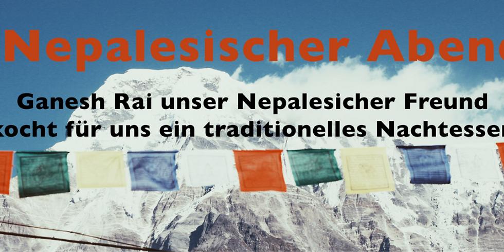 Traditionelles nepalesisches Essen mit Ganesh Rai