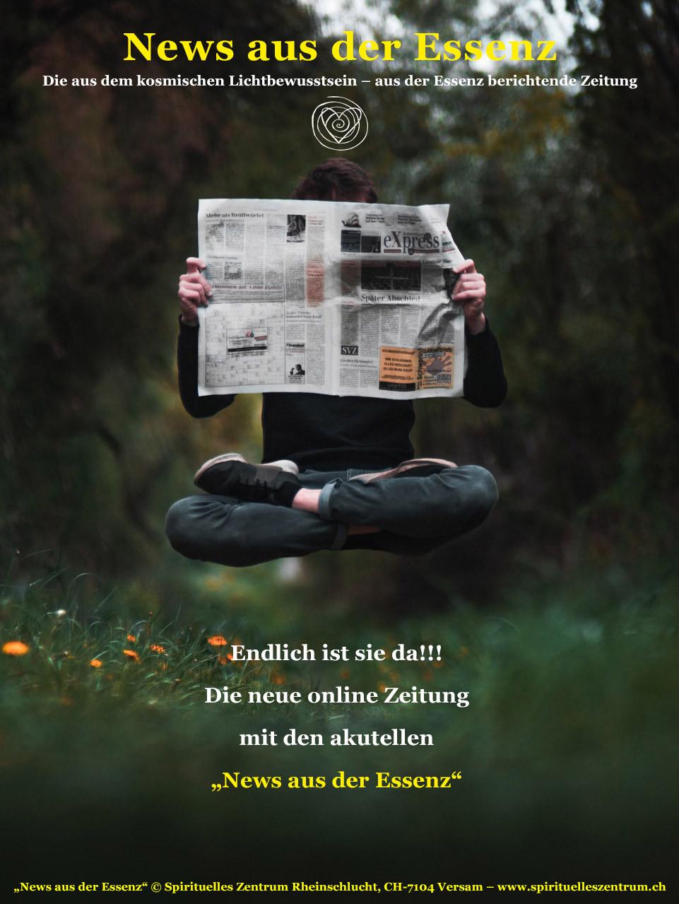 Die neue Zeitung - News aus der Essenz, ist da.