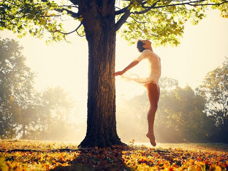Wenn dein Licht - deine Lebensenergie - dein Qi wieder durch dich fliesst.