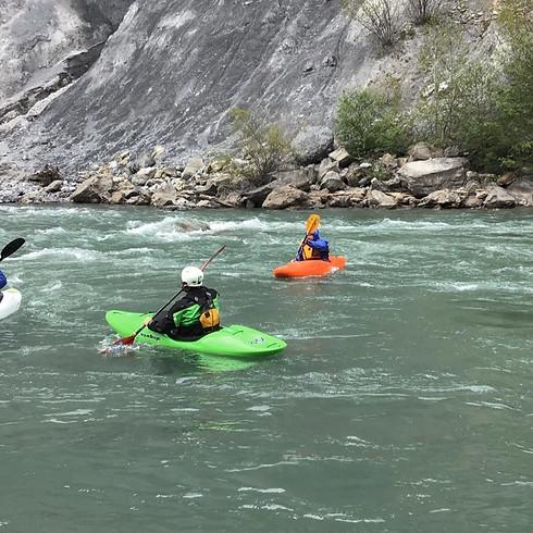 Ganz im Fluss