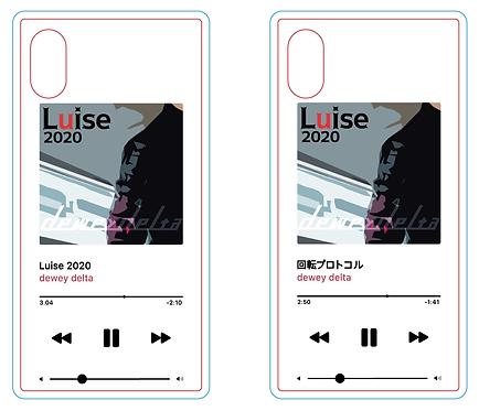 再生画面風スマートフォンケース