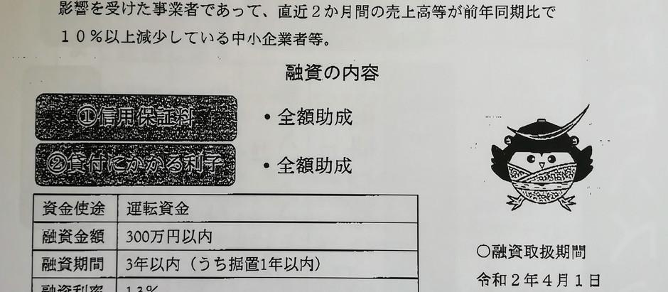 利子・保証料全額助成【当別町中小企業特別融資制度】