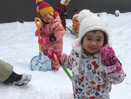 【西宮の沢】2月は立春を迎えますが、北海道はまだまだ寒い日々が続きますね。【マザー保育園西宮の沢おたより2月号】