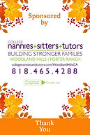 Sponsorship Banner College Nannies Sitte