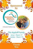 Sponsorship Banner Inclusion Matters App