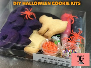 Halloween Cookie Decorating Kit by Rockiie's Cakes