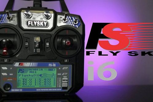 FLYSKY I6 2.4G 6CH RC TRANSMITTER WITHOUT RECEIVER