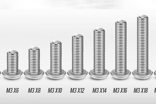 M3 5-20mm Stainless Allen Screws & Nuts