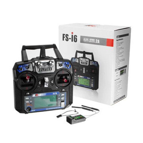 Flysky FS-i6 FS I6 2.4G 6ch RC Transmitter with FS-iA6B Receiver