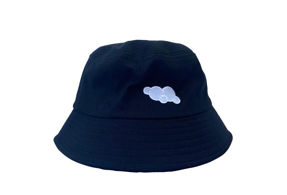 Cloud Bucket Hat (Black)