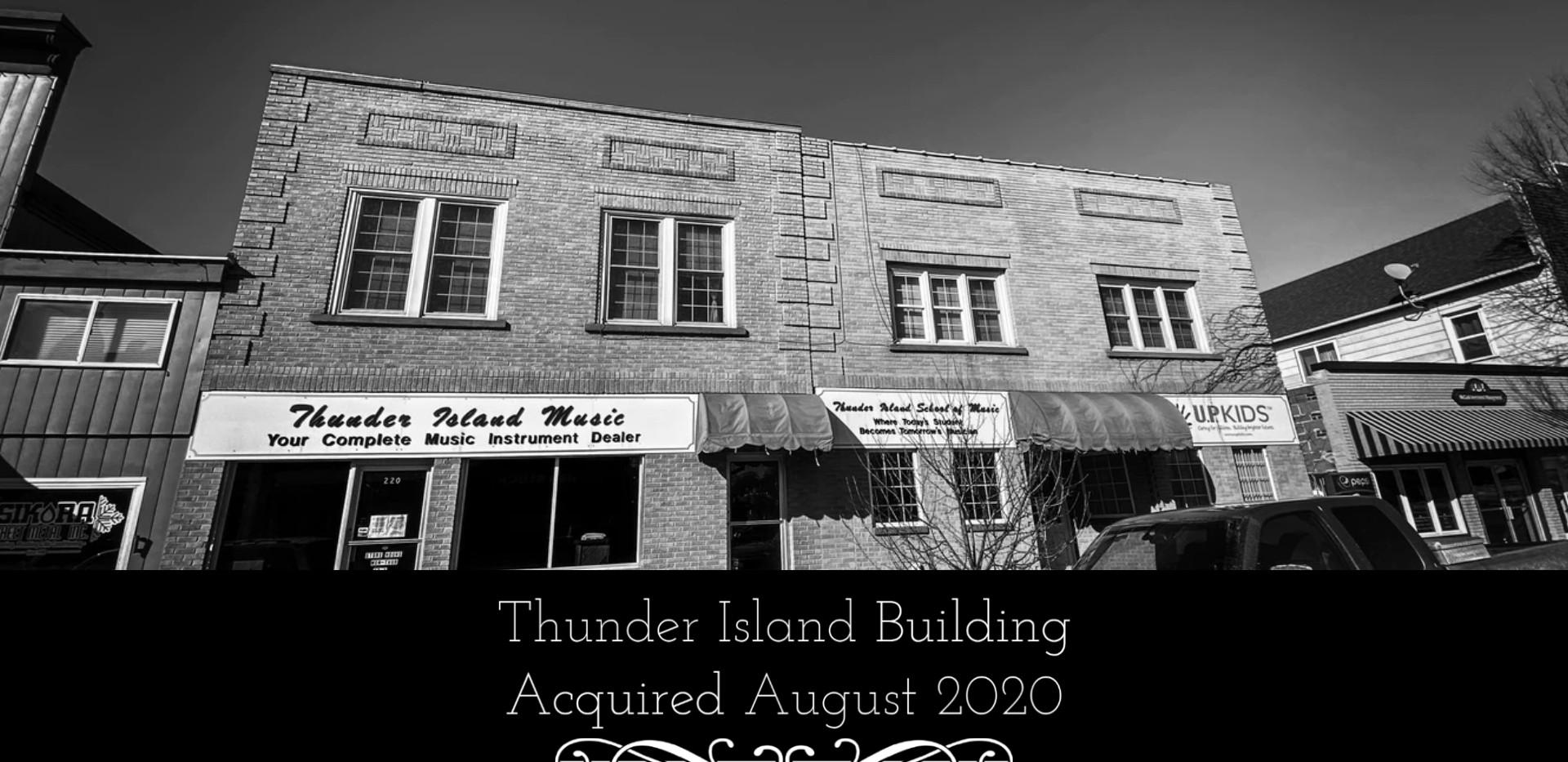 Thunder Island Building, Iron Mountain MI