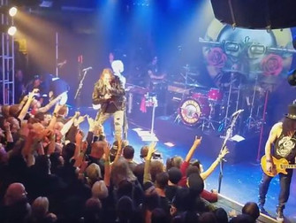 Guns N Roses reunite for first time since 1993 with a surprise show in LA before heading out on tour