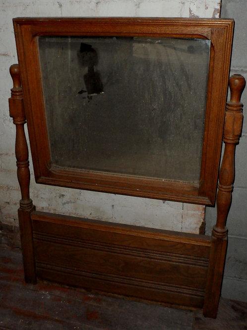 27in X 36in Oak Dresser Mirror