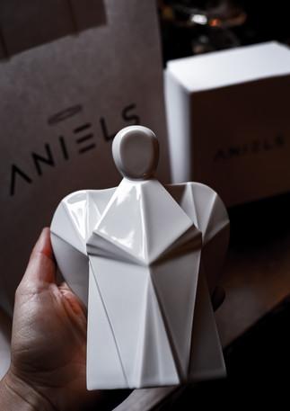 Aniels interier porcelánový andílek celé balení