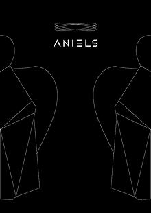 Aniels sběratelská designová karta k andílkovi