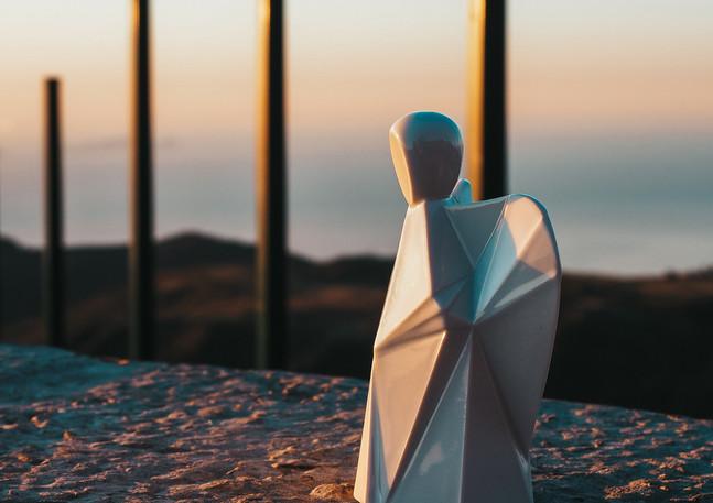 Porcelánový anděl na Madeiře