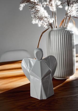 Aniels interier porcelánový anděl design