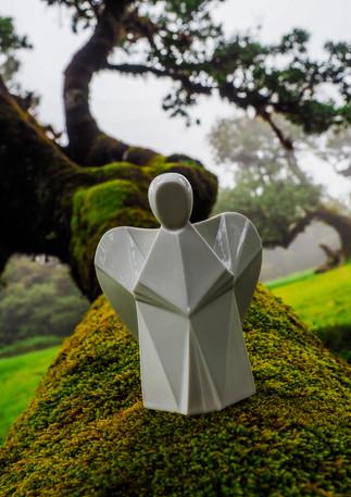 Porcelánový anděl design