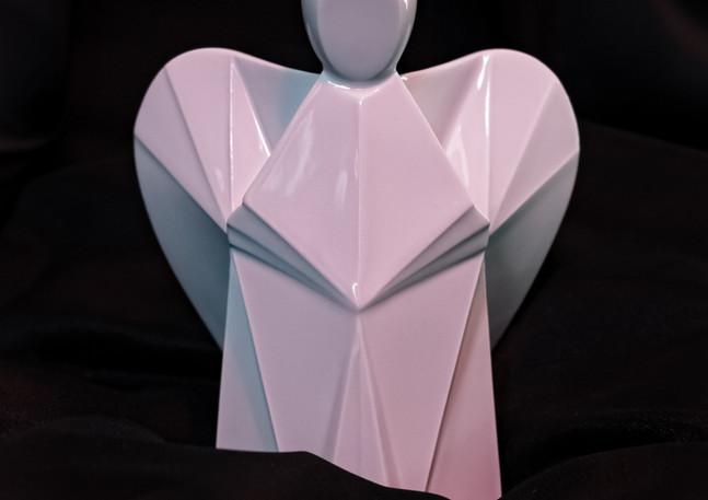 Aniels interier porcelánový andílek bilý