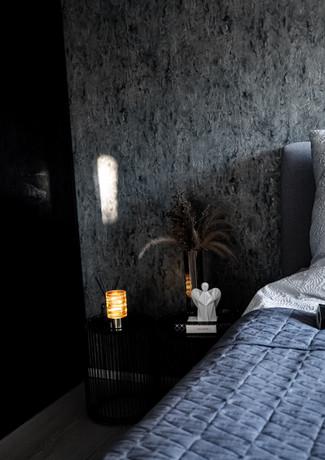 Aniels černý anděl design interiér