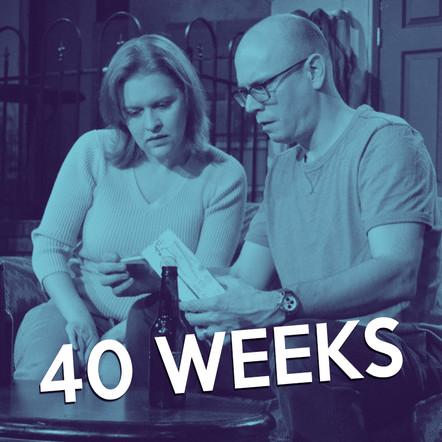 Michael Henry Harris's 40 Weeks at OnStage Atlanta, directed by Topher Payne