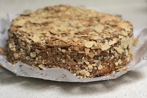 Torta de hojarasca - manjar de leche condensada