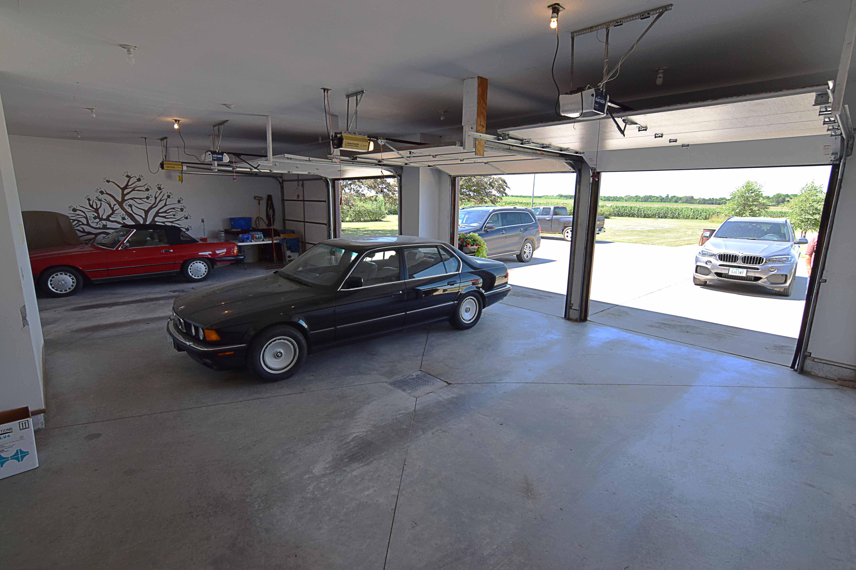 Finished Garage Interior