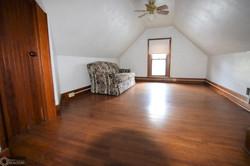 Bedroom up oak floors