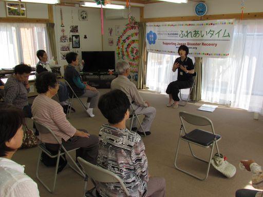2014福島県南相馬仮設住宅支援