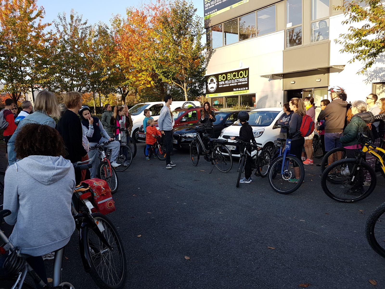 Montévrain-événement écomobilité-vélos electriques