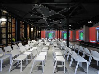 Уникальный проект конференц-зала в сердце UNIT.City - нового IT кластера в г. Киеве