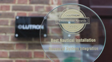 Lutron Excellence Awards 2015 - Best Nautical Installation