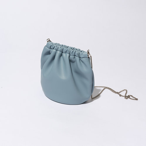 egg bag mini - baby blue