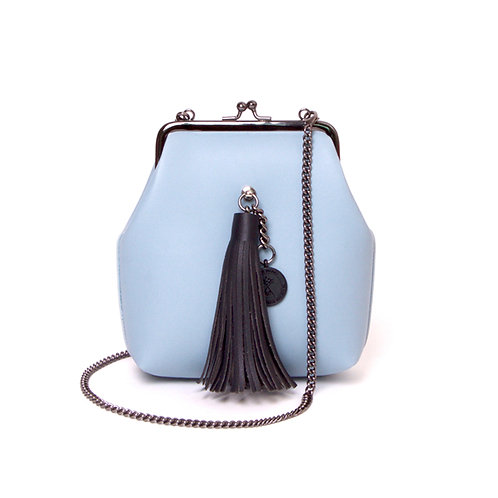 9° Mia Bag PASTEL BLUE - TASSEL