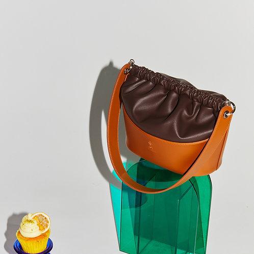 Choux Bag M Choco - Tan