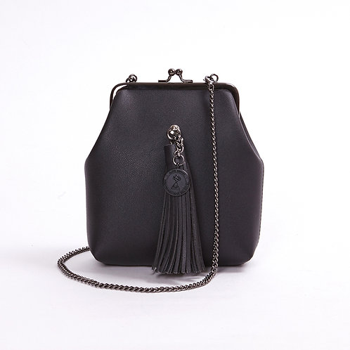 9° Mia Bag BLACK - TASSEL