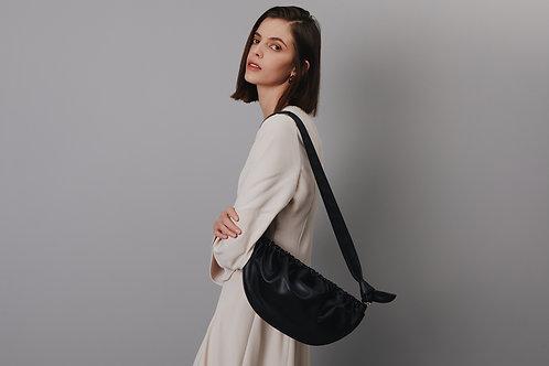 Soft Gnocchi bag L -Black