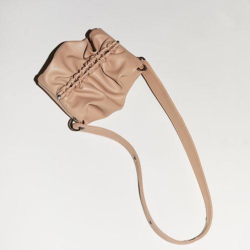Strap Bun Bag S - Soymilk