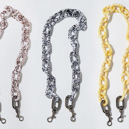 ACC terazzo chain - 74cm SAMO ONDOH