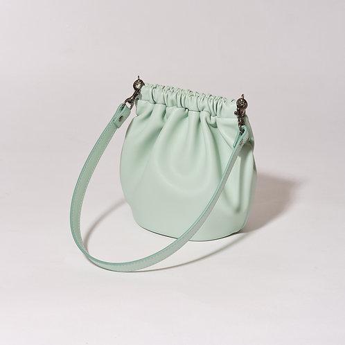 egg bag mini - aqua mint