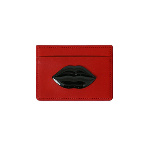 LEATHER° CD RED - BLACK LIP SUL