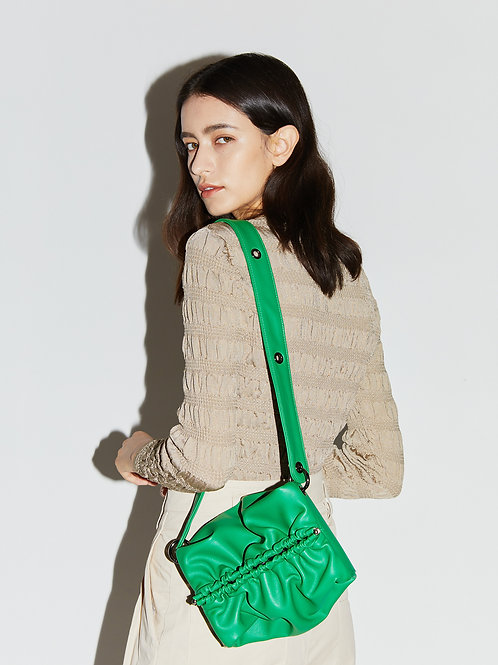 Strap Bun Bag S - Green
